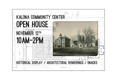 Community Center Open House Event