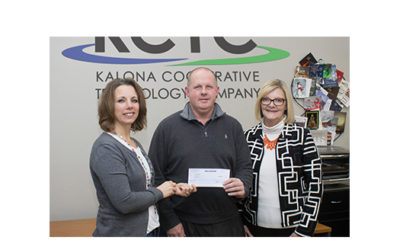 Aureon Technology Awards Community Center Project Charity Grant